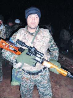تكتيراندازي كه در 40 روز 40 داعشي را به درك رساند