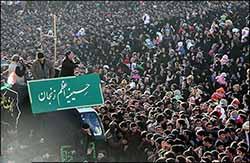 یل یاتار طوفان یاتار یاتماز حسینین پرچمی؛ کلامی که بر دلها نشست