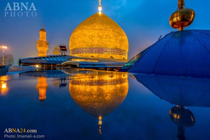 زیباترین تصاویر از حرم امام علی(ع) در سال 2016 میلادی