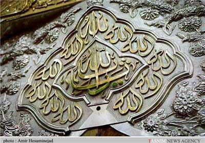تصاویر دیدنی از داخل ضریح امام حسین (ع)