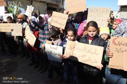 ناامیدی شیعیان فوعه و کفریا از گفتگوهای صلح؛ برای ما فقط نان بفرستید