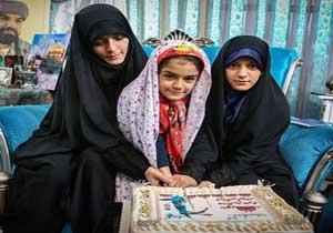 دلنوشته دختر شهید مدافع حرم در سالروز تولد پدر