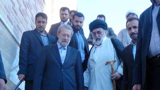 دکتر لاریجانی در مراسم افتتاح کتابخانه عمومی مرکز بررسیهای اسلامی، آثار استاد خسروشاهی از جامعیت برخوردار است