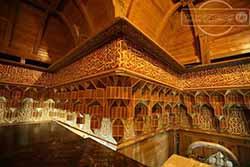 آشنایی با تاریخ ضریح مطهر امام حسین(ع)، تصاویر زیبا از داخل ضریح