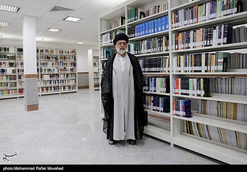 گزارش شبکه استانی قم از مراسم افتتاح کتابخانه مرکز بررسیهای اسلامی